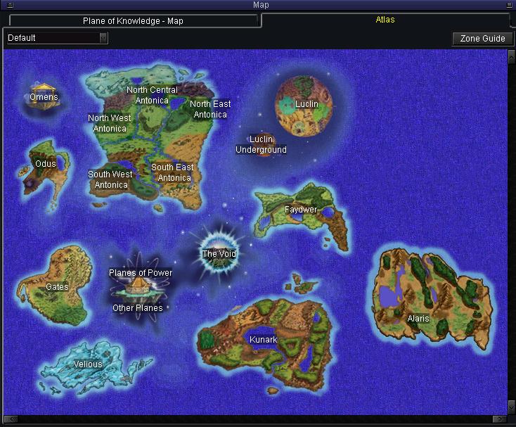 Maps - Zliz's EverQuest Compendium