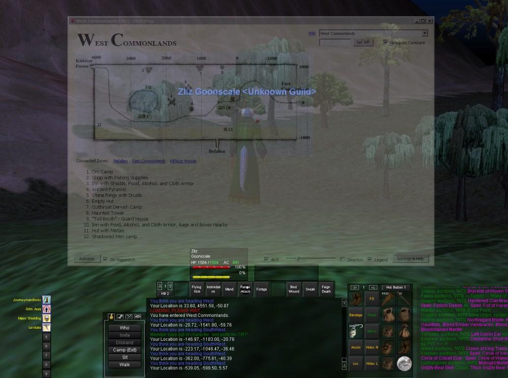 ZlizEQMap - Zliz's EverQuest Compendium
